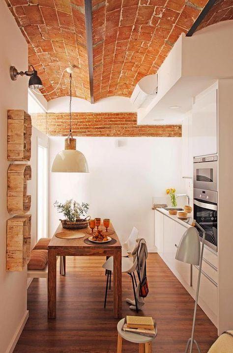 RUSTICO-CHIC: lo stile di un appartamento a Barcellona ...