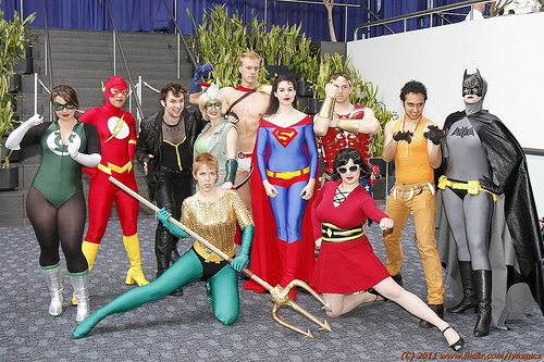 Gender-swapped JLA  sc 1 st  Pinterest : justice league costumes for adults  - Germanpascual.Com
