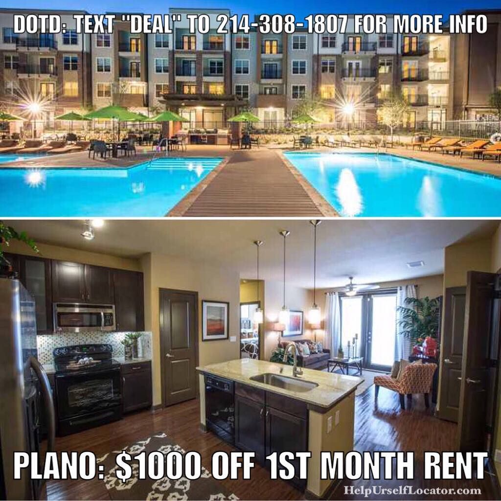 Apartments Phoenix Az First Month Free: Deal Of The Day: PLANO: $1000 OFF 1st Month Rent On Vacant