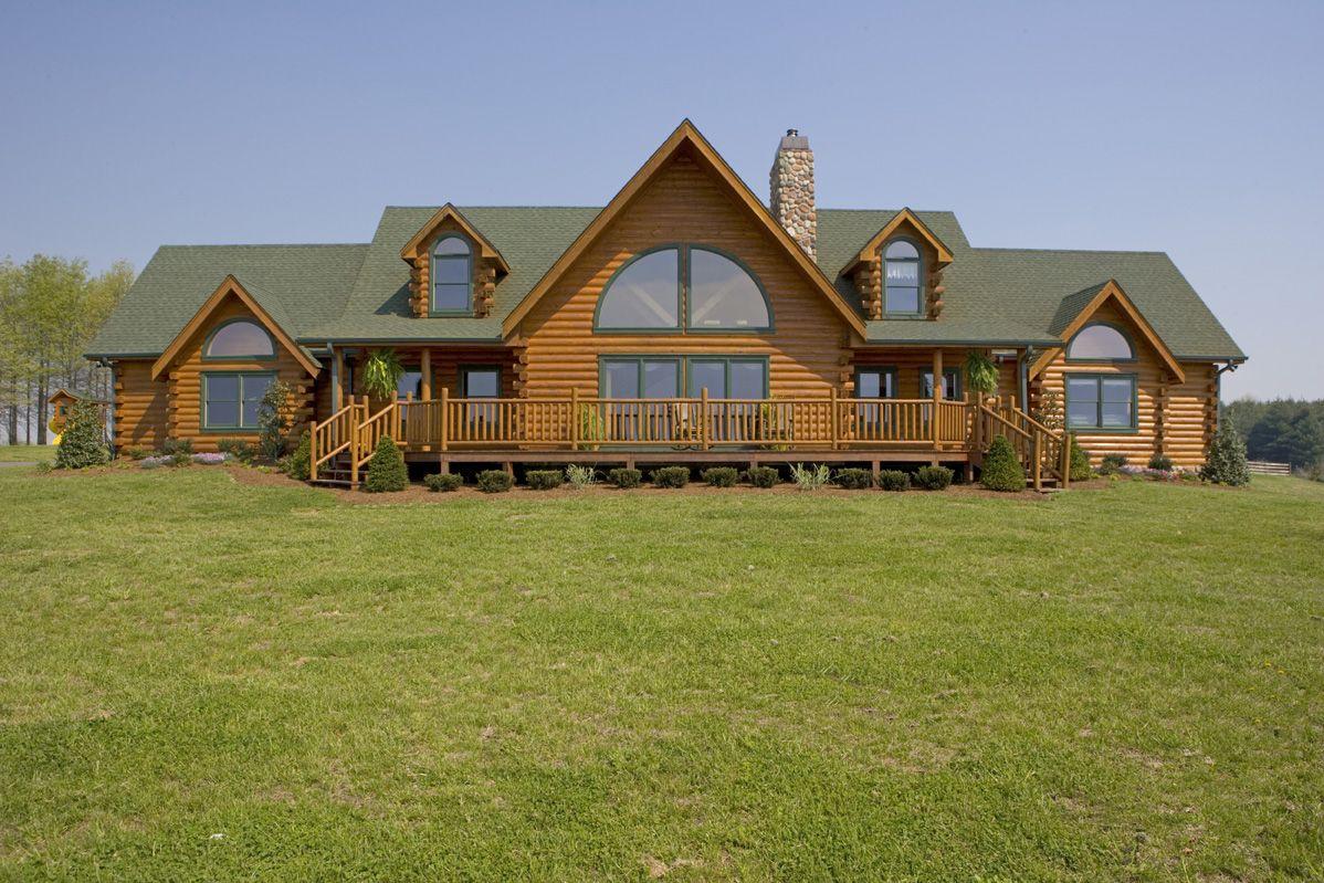 Smith Westport Plan D Log Log Homes Log Home Designs Log Home Living