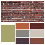 Half Brick Home Paint Exterior Paint Colors For House House Paint Exterior House Paint Color Combination