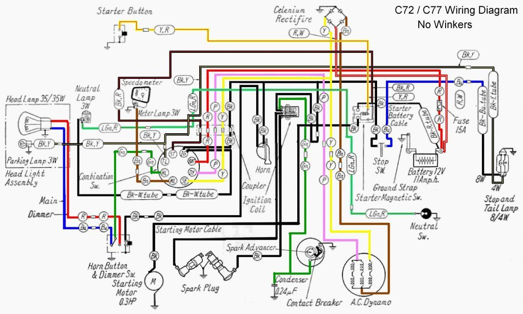 15 Simple Wiring Diagram Of Motorcycle Honda Xrm 125 Technique Bacamajalah Motorcycle Wiring Honda Motorcycles Honda Ex5