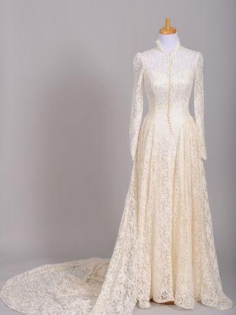 1940s Lace Wedding Dress Lace Wedding Dress Vintage Wedding Dresses Vintage Wedding Gowns Vintage