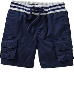 Jersey-Waist Cargo Shorts for Baby | Old Navy | Jayce