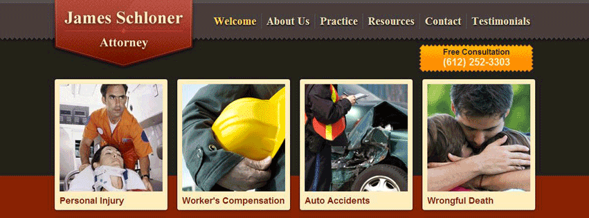 Minnesota Workers Compensation Attorney James N Schloner With