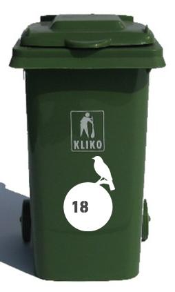 Kliko Stickers Kliko S Stickers Raamstickers