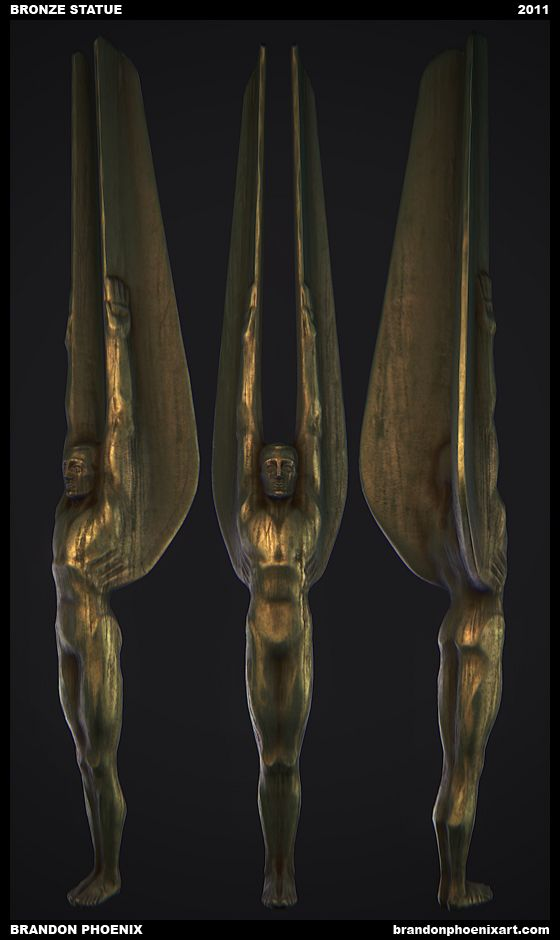 Art Deco Statue Man - Google Search | Decopunk | Pinterest
