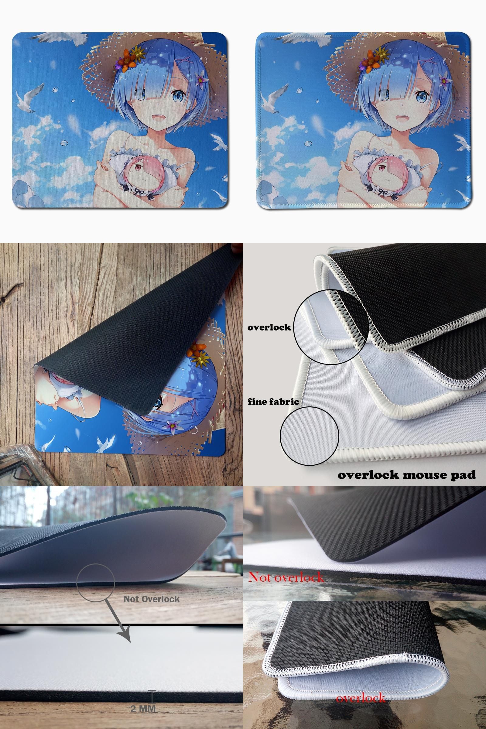 Visit To Buy Rem Anime Gaming Mouse Pad Large Game Gamer Mice