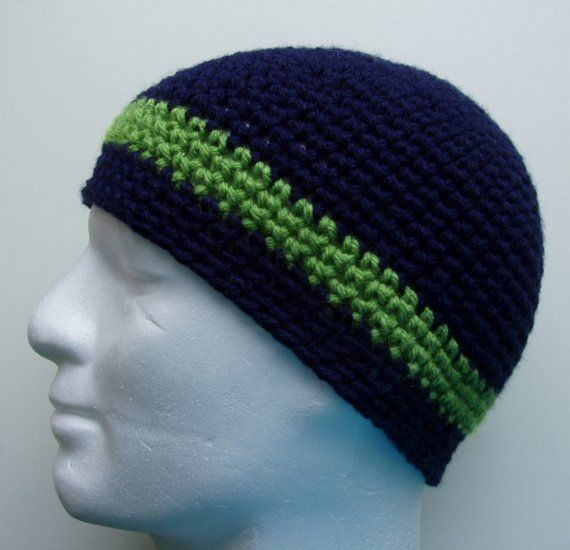 CROCHET PATTERN/TONI Mans Crochet Beanie pattern/Easy Crochet Hat ...