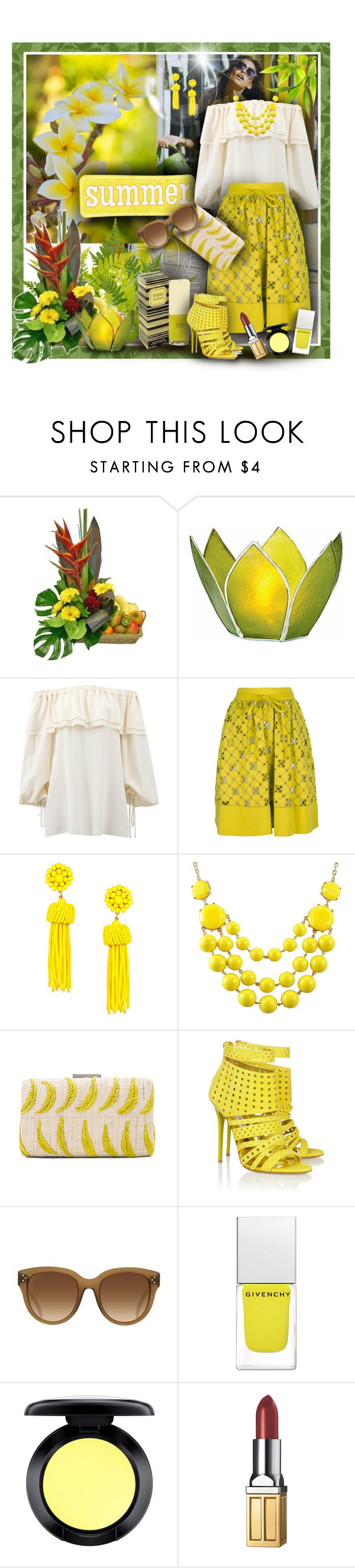 """""""Summer Sun"""" by franceseattle ❤ liked on Polyvore featuring Michael Kors, MANTU, Kayu, Jimmy Choo, Givenchy, MAC Cosmetics and Elizabeth Arden"""