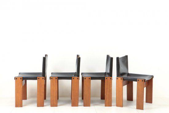 Sedie Molteni ~ Afra e tobia scarpa quattro sedie monk per molteni legno