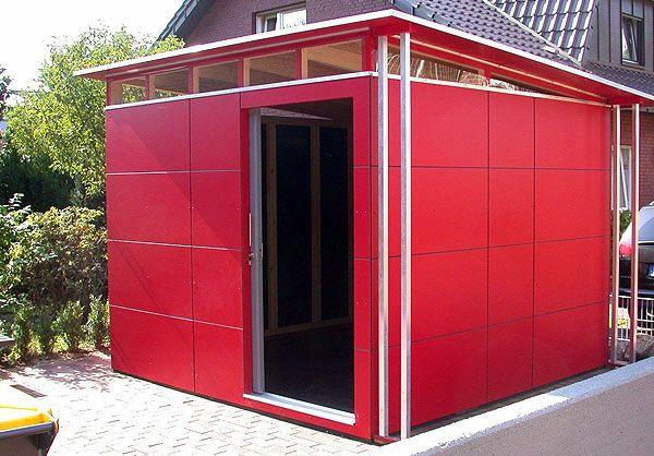 CUBE Design Gartenhaus GarDomo Garten Design