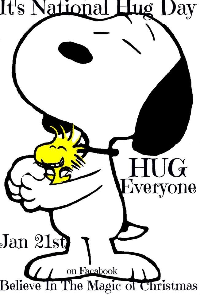 Snoopy Hugging Woodstock - It's National Hug Day - January 21st - Hug  Someone | Snoopy love, Snoopy pictures, Snoopy and woodstock