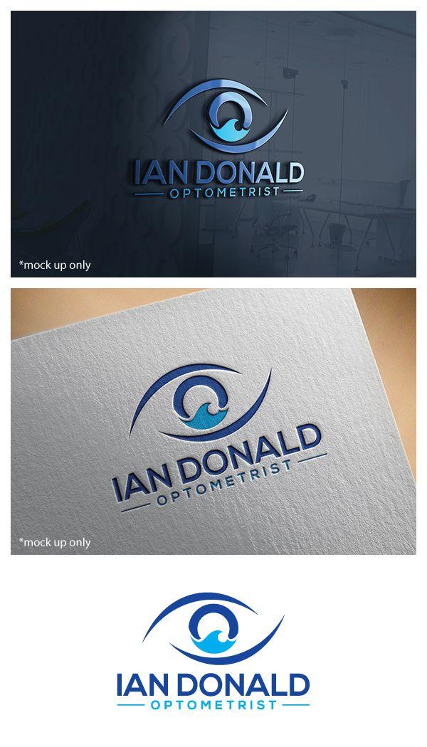 Ian Donald Optometrist needs a logo design Upmarket, Serious Logo ...