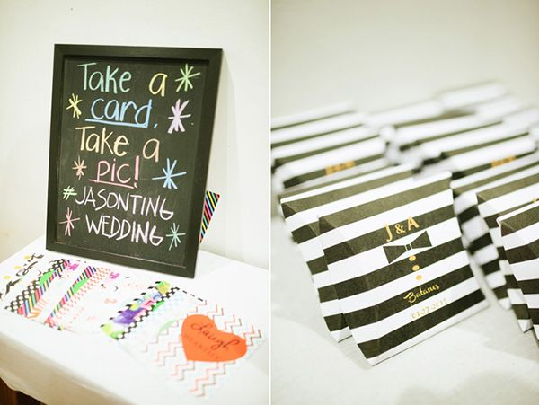 Kate Spade-inspired Wedding Favors | http://brideandbreakfast.ph/2015/05/11/bold-and-breathtakingly-beautiful-kate-spade/ | Photo: Nicolai Melicor