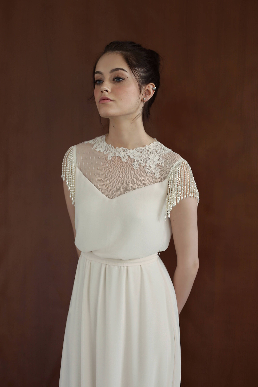 41+ Simple timeless wedding dresses information