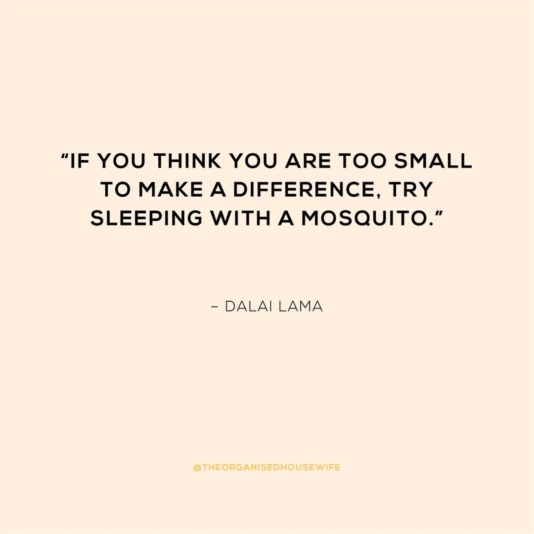 Dalai Lama Quote If You Think You Are Too…