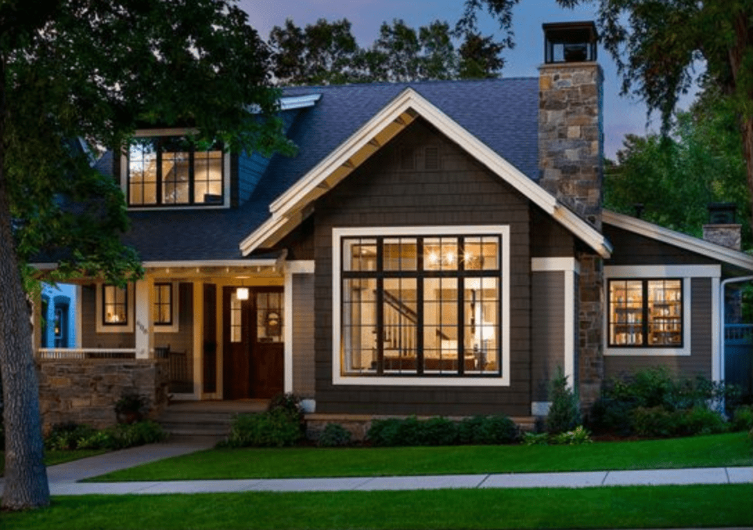 10 Striking Dark Home Exteriors New Trend Lindsay Hill Interiors Craftsman Home Exterior Small House Exteriors House Designs Exterior
