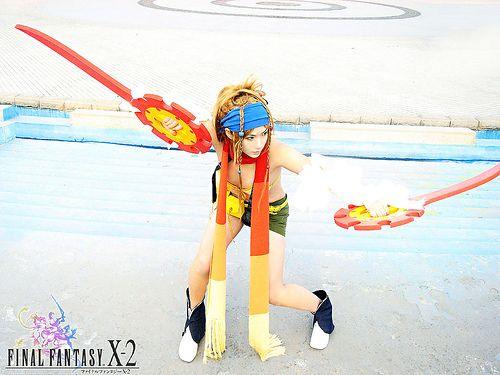 The best Rikku cosplay from FFX-2
