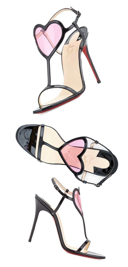 1e75b38165c3 ... italy christian louboutin cora heart front sandals. valentines day love  d3e60 16434