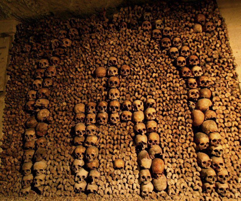 Catacombs of Paris | Places I Must Visit One Day | Pinterest | The ...