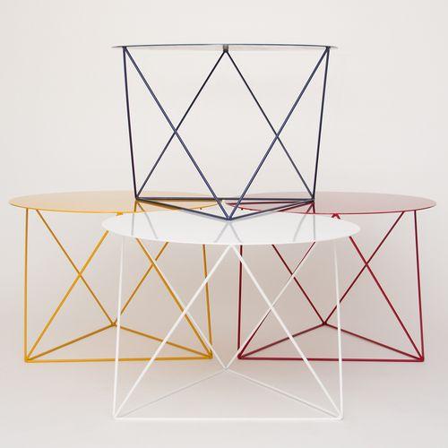 Octahedron Side Table