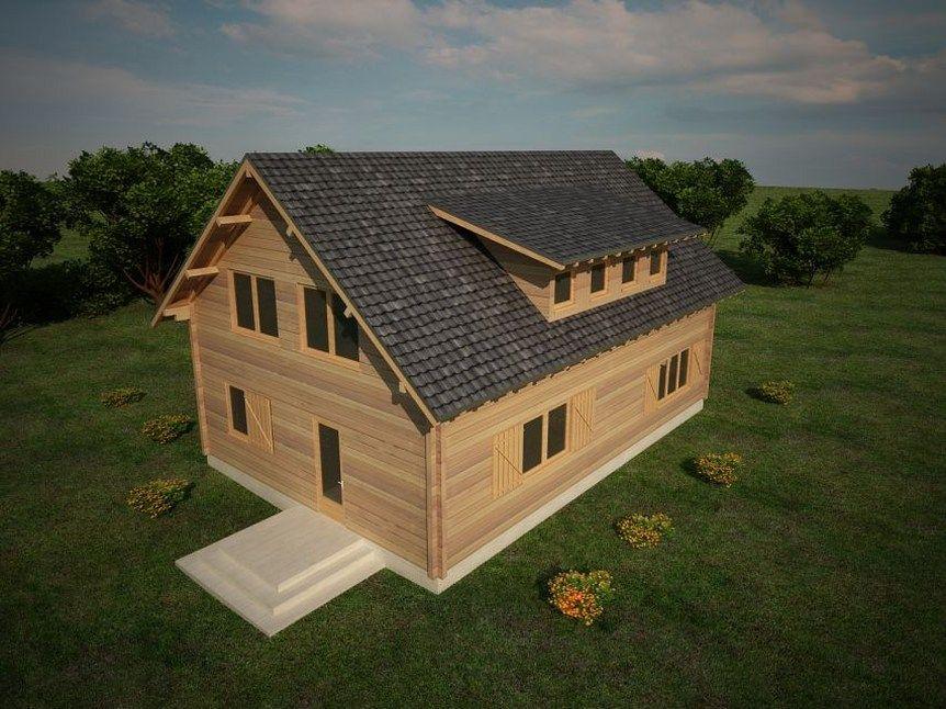Houtskeletbouw woning gherla houten huis bouwen houten for Budget huis bouwen