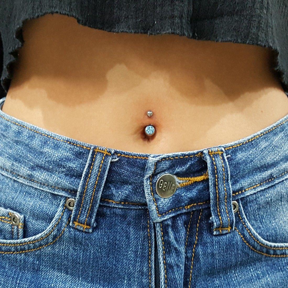 Belly piercing 2018  Pin by jess  on p i e r c i n g s in   Pinterest  Piercings