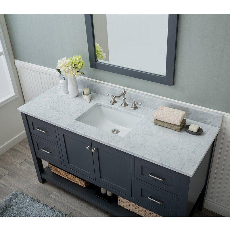 Warburton 60 Single Bathroom Vanity, Bathroom Vanity Ensembles