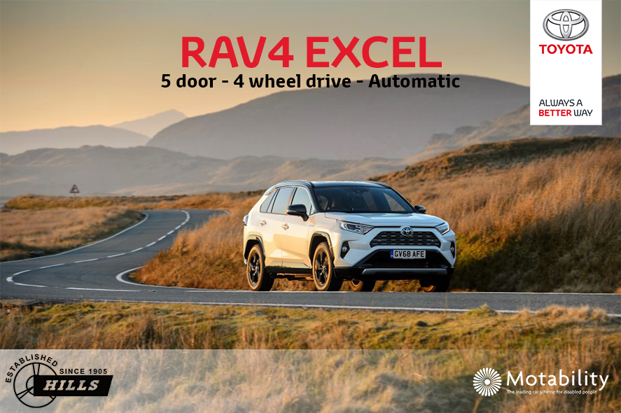 See The Motability Offer On The Rav4 Excel We Re Pleased To Be