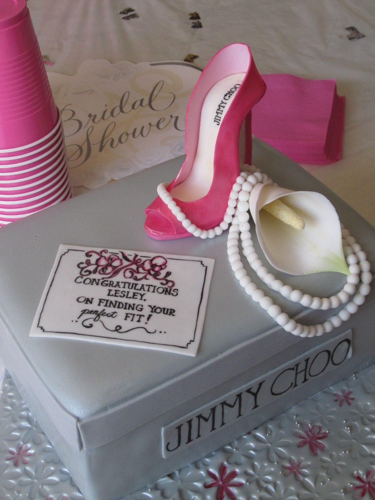 the wicked little cake company head over heels bridal shower cake sayings
