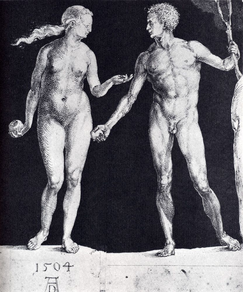 Durer Figure Drawings