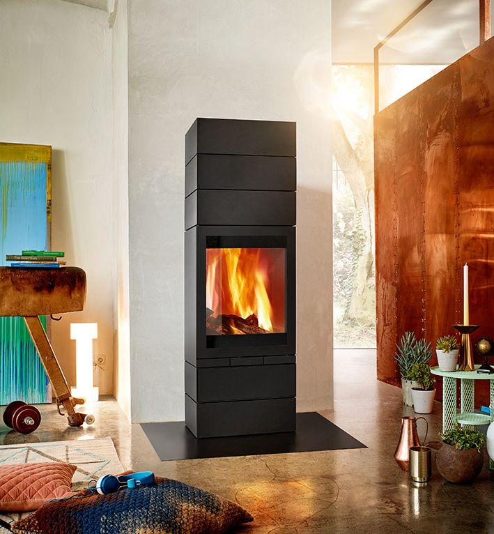der besonders ger umige brennraum des kaminofens elements 603 front erlaubt eine optimale. Black Bedroom Furniture Sets. Home Design Ideas