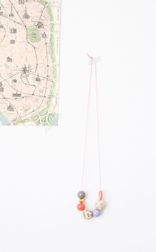 5 Minute DIY to Try: Nail Polish Necklace Idea - Paper and Stitch