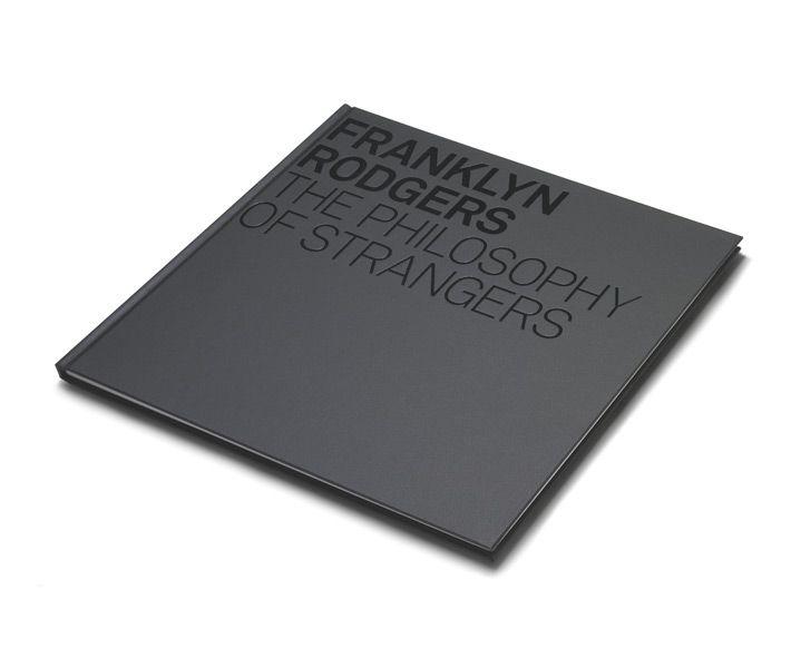 Black on black cover, The Philosophy of Strangers by Studio8 Design _
