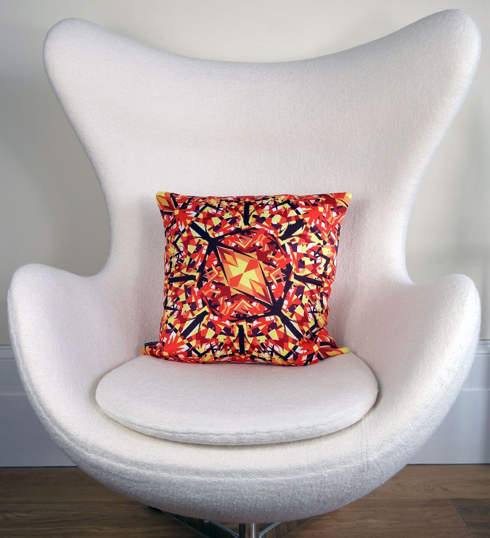 Whitstable sunset a new cushion to our kunst range at claos