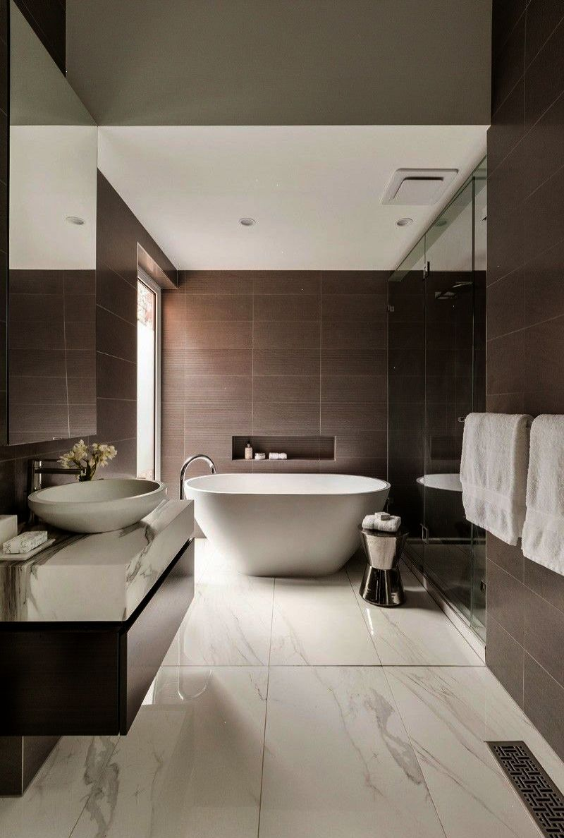A Contemporary Addition For A Heritage Home In Melbourne Lsa Architects Modern Bathroom Top Bathroom Design Contemporary Bathrooms