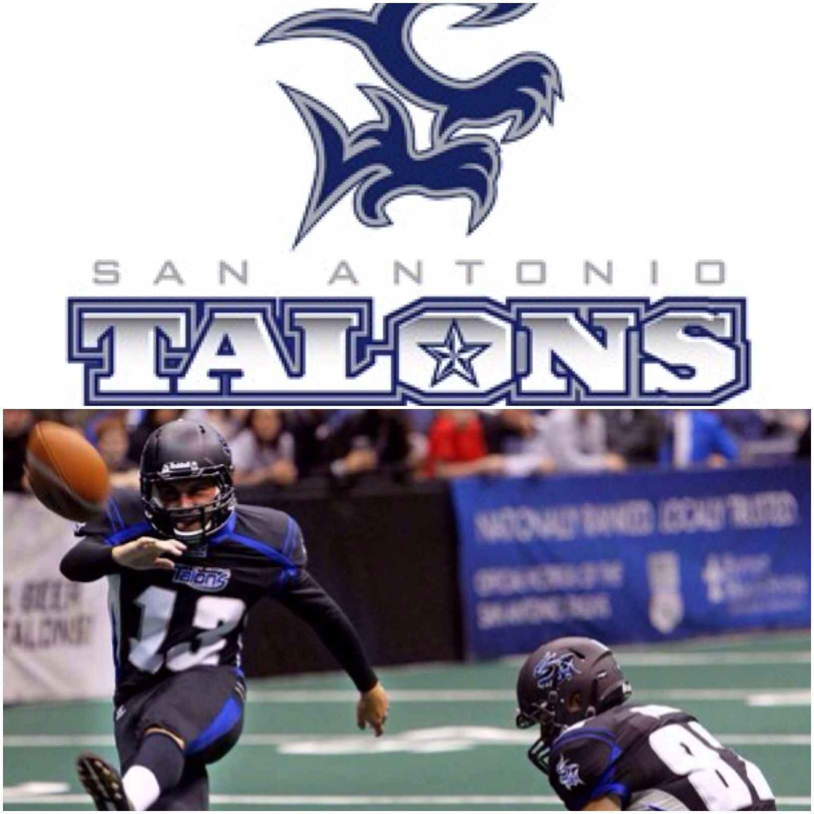 the san antonio talons are a professional arena football team