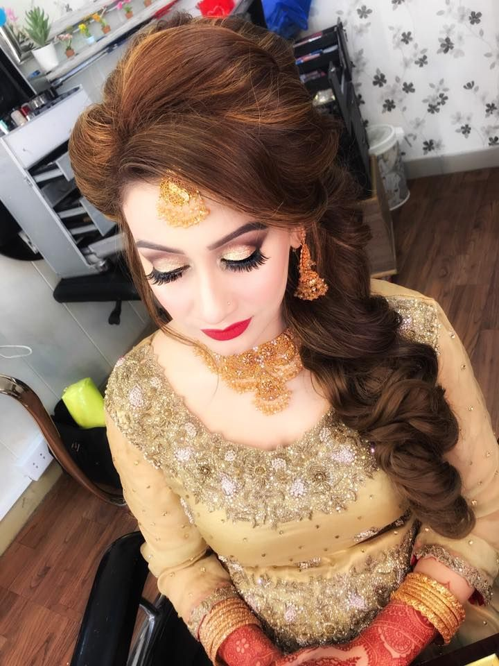 Formal Asian Pakistani Party Makeup Looks & Tutorial 2018-19 | Party ...