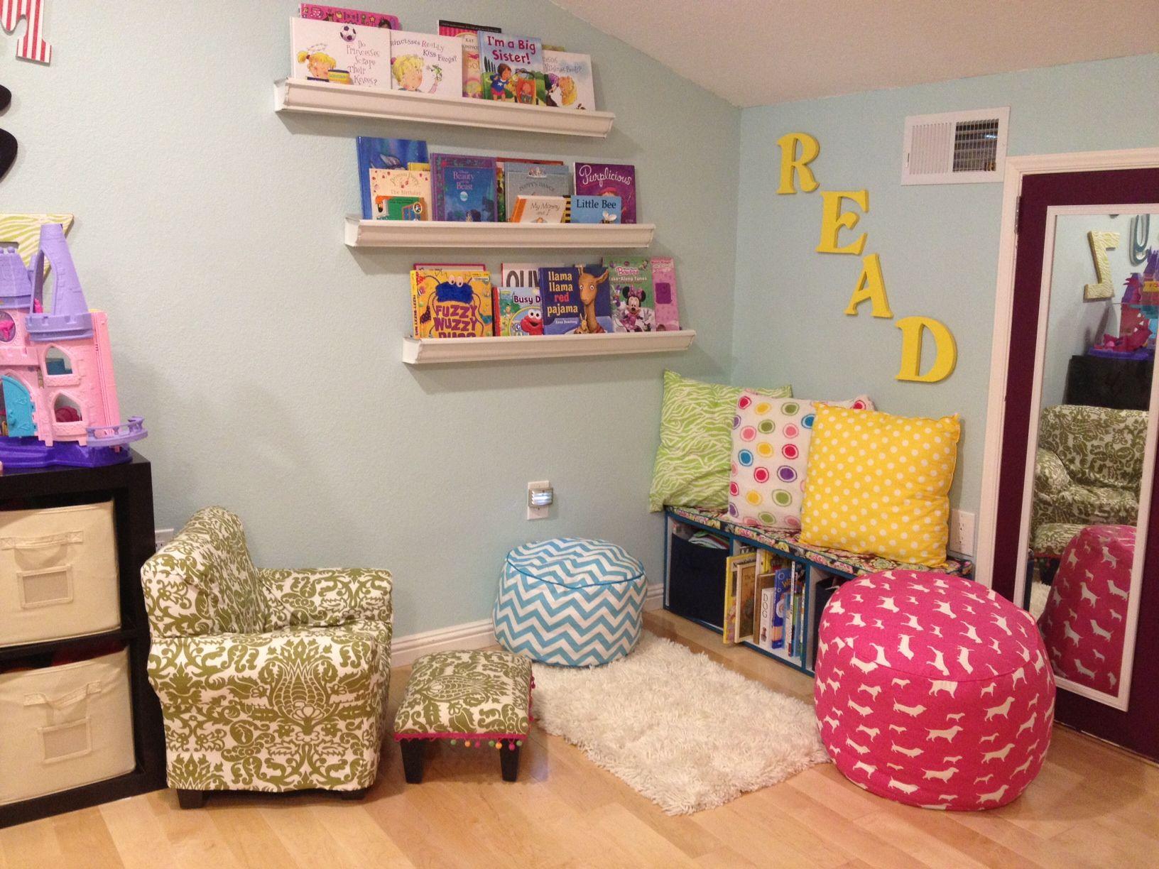Reading Corners kids reading corner | princess amaris' palace | pinterest | kids