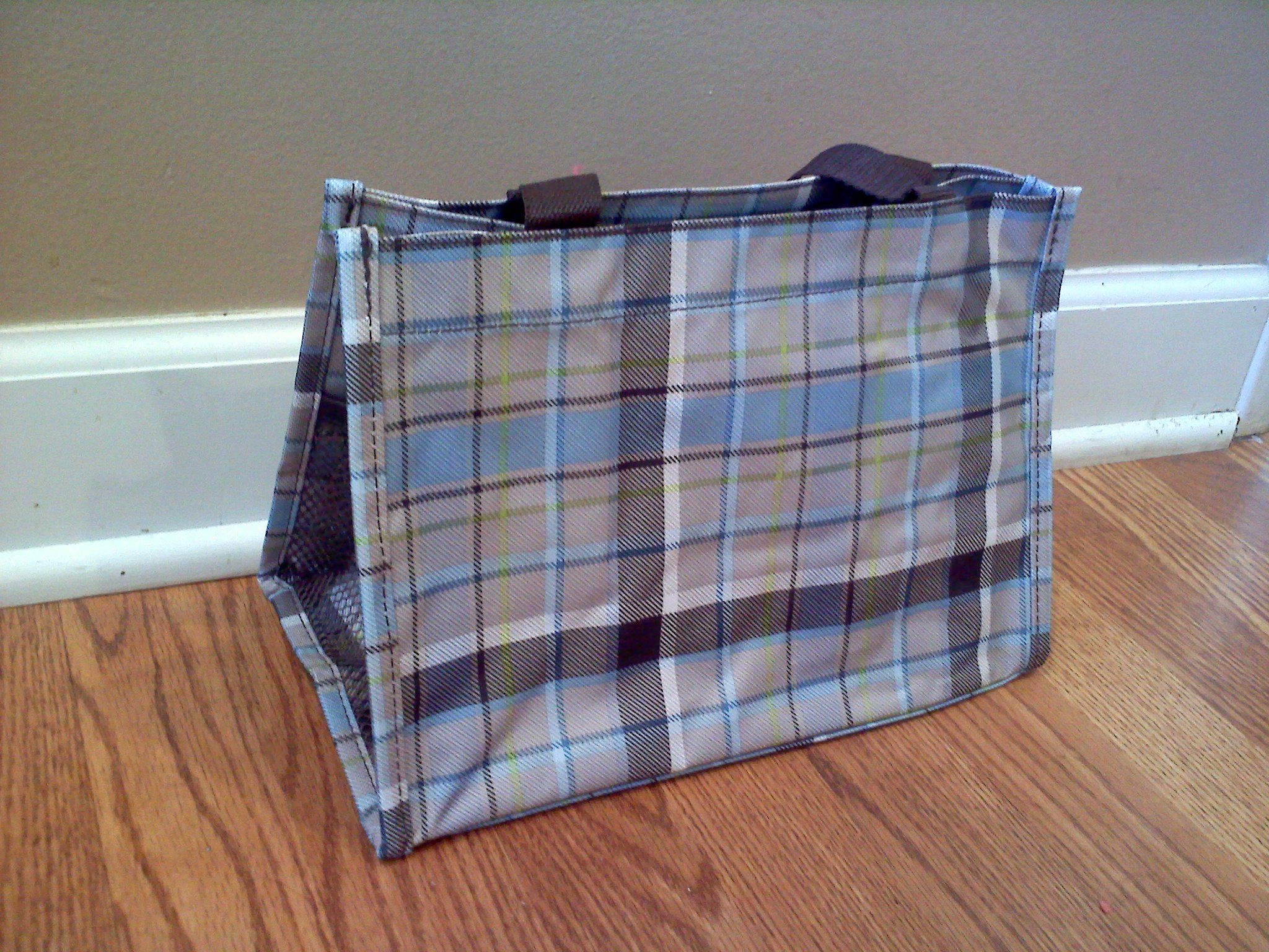 All In One Organizer - Harvest Plaid - $20
