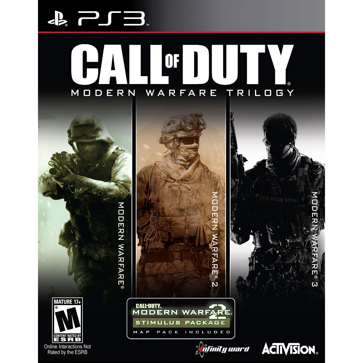 Call Of Duty Modern Warfare Trilogy For Ps3 Modern Warfare Call Of Duty Activision
