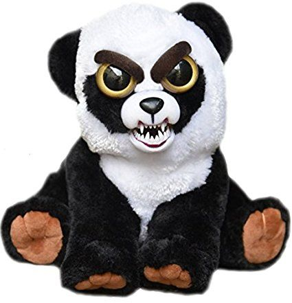 Amazon Com William Mark Feisty Pets Black Belt Bobby Plush
