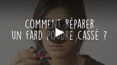 Maquillage Comment Reparer Un Fard A Paupieres Casse Fard A