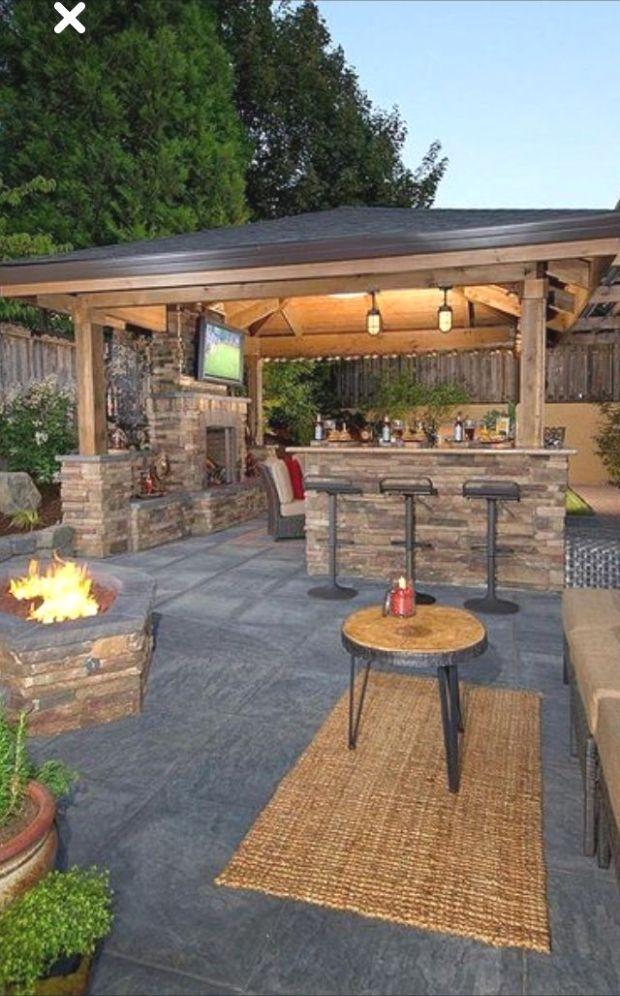 Kleiner Runder Tisch Cakerecipespins Club Cakerecipespinsclub Gardengarageideaspatio K In 2020 Outdoor Kitchen Patio Backyard Pavilion Backyard Patio Designs