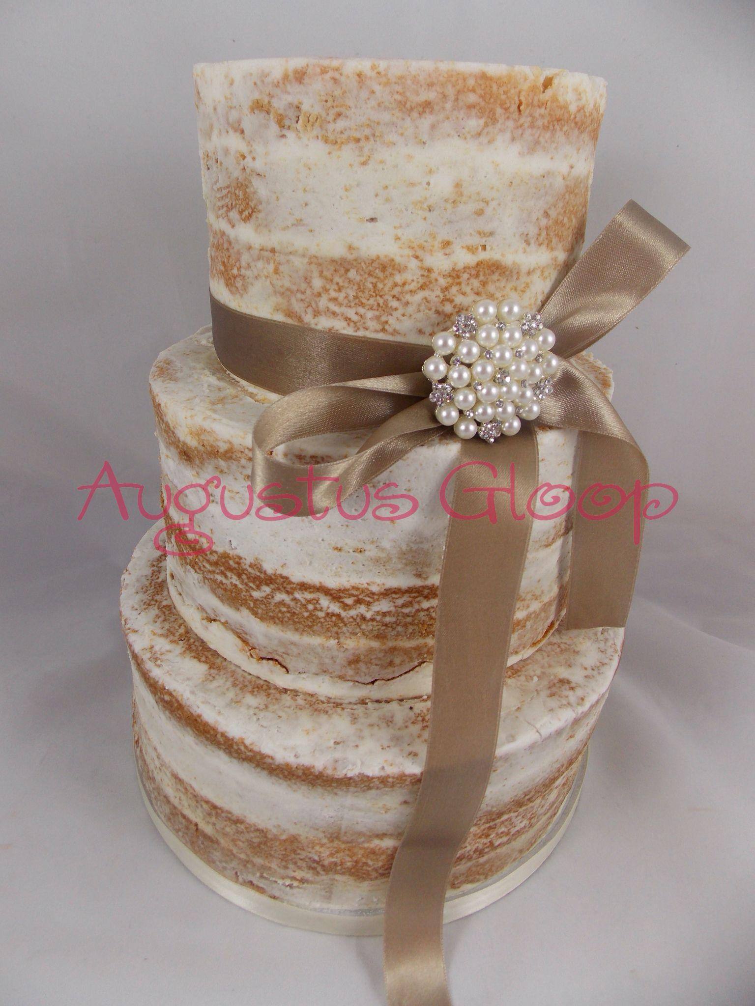 Augustus Gloop Wales Cakes Facebookcom Augustusgloopwales Pretty Ribbon Style Naked Wedding Elegant StylesVanilla SpongeWedding