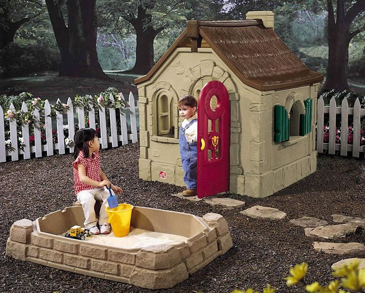 A Kids Playhouse Will Bring Joy To Your Home Backyard Playset Play Houses Storybook Cottage