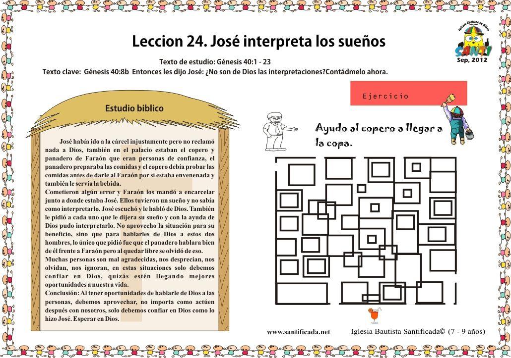 Jose El Sonador En Egipto Para Colorear Buscar Con Google Interpretar Los Suenos Biblia Para Ninos Iglesia Ninos
