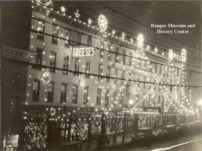 1950s Freeses Department Store Main St Bangor I Love Maine