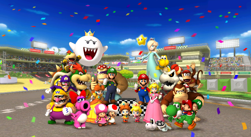 It 39 S The Release Date For Mario Kart 8 Deluxe On The Switch So I 39 Ve Decided To Do A Complete Mario Kart Series Retrosp Mario Kart Wii Mario Kart Mario